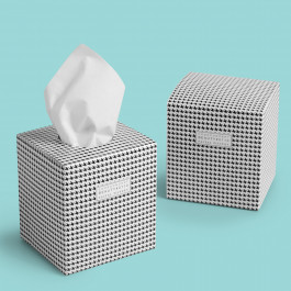 Cube of 100 tissues - CODE CONCEPT